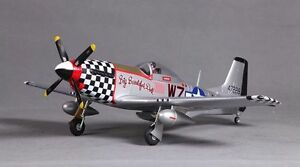 P-51D BBD Wingspan: 31.5 in (800mm) Plug N Play, V2 Brushless RC Airplane