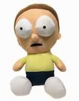 "Rick And Morty Plush Adult Swim Bulge Eyes Stuffed Doll 10"" Sitting Toy Factory"