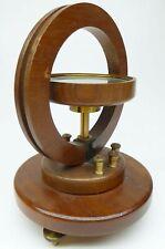 Tangentenbussole Bussole Strom Messgerät Tangent Galvanometer Antik um 1920