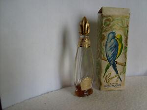 Miniature BOURJOIS ramage  ancienne