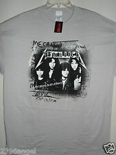NEW - METALLICA YOUNG METAL ATTACK BAND / CONCERT / MUSIC T-SHIRT EXTRA  LARGE