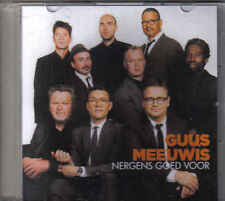 Guus Meeuwis-Nergens Goed Voor Promo cd single