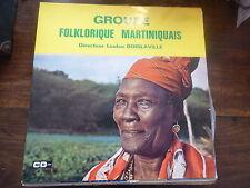 groupe folklorique martiniquais - loulou boislaville  célini disque RCG 10033