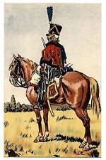 1er EMPIRE.NAPOLéON.ARMéE FRANçAISE.1807.HUSSARD EN VEDETTE.