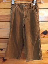 Crazy 8 Boys Mountain Lodge Brown Corduroy Pants Size 2 yrs