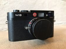 Leica M M8 10.3MP Digital Camera - Black (Body Only) -5800 Shutter