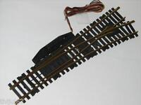 FLEISCHMANN ( 6049 R ) AIGUILLAGE ELECTRIQUE DROITE COEUR MOBILE RAILS LAITON HO