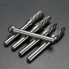 5X Set Wolfram Carbide Frässtift Schaftfräser Hartmetall Fräser Drehfräser Kit