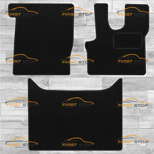 Daf Xf 106 Auto 2014-On Fully Tailored Carpet Car Floor Mats Black 3Pc