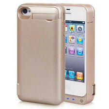 For iPhone 5s 5c SE Battery Case 4800mAh Ultra Slim Extended Batery Backup Gold