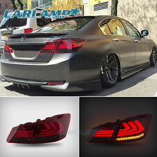 TAIL LIGHTS 4 DOOR SEDAN LED BRAKE FOR 2013 2014 2015 Honda Accord