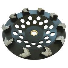 "7"" Arrow Seg Diamond Grinding Cup Wheel For Angle Grinders 7/8""-5/8"" Concrete"
