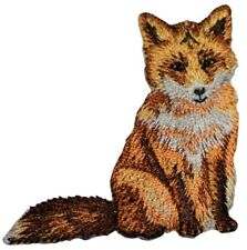 Red Fox Applique Patch (Iron on)