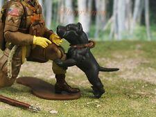 Hood Hounds Pit Bull Dog 1:18 GI Joe Size Cake Topper Figure Decoration K1285 A