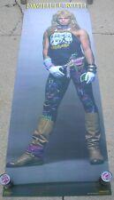 """David Lee Roth Van Halen Vintage Original Door Size Poster Mint- New 26"""" x 76"""" 2"""