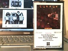 KANSAS Two For The Show - Cassette USA 1978  Play Tested Tape