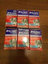 (6) Feliway MultiCat Diffuser Refill(48 mL) Harmony&Calming