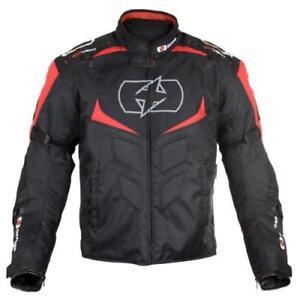 Oxford Melbourne 2.0 Motorbike/Motorcycle Waterproof Textile Sport Jacket -Red