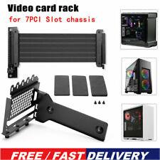 PHANTEKS 7 PCI Vertical Case Graphics Card Holder Stand GPU Mount Video Rack