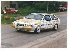 VOLKSWAGEN VW Scirocco 1987 Motorsport Foto Auto Photograph Photo Rallye