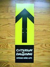 Flèche directionnelle cycling critérium du Dauphiné 2021 Tour de France cyclisme