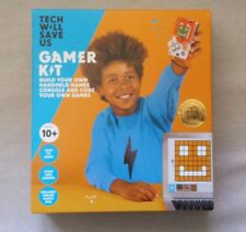 Tech Will Save Us GAMER KIT Arduino-type STEM kit Build / Code / Play $99 RETAIL