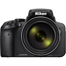 Nikon COOLPIX P900 16MP 83x Super Zoom Digital Camera - Black