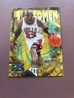 Michael Jordan 1997-98 Skybox Z Force Zupermen MJ 90's Bulls card.