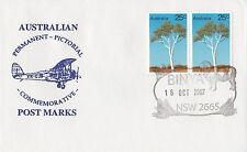 Permanent Commerative Pictorial Postmark - Binya 16 Oct 2007 - 50c