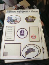 LSU Tigers NCAA College Magnetic Refrigerator Frame