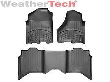 WeatherTech FloorLiner Mat for Ram 1500/2500/3500 Crew Cab - 1st/2nd Row - Black