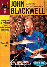 John Blackwell Technique Grooving & Showmanship Learn Drums Music DVD