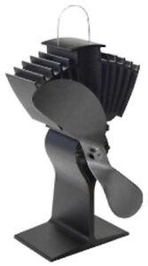 Caframo Ecofan Airmax 812 Black Woodburner stove Fan Genuine Caframo wood stove