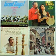 JEWISH Lot of 10 LP's #8229 Israel YIDDISH