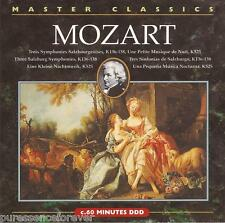 MOZART - Salzburg Symphonies Nos. 1-3/Eine Kleine Nachtmusik (UK 13 Tk CD Album)