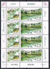 Europa CEPT 1999 Nationale parken Monaco vel 2454-2455 - cat waarde € 12