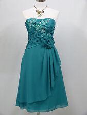 Cherlone Chiffon Blue Prom Ball Evening Party Wedding Bridesmaid Formal Dress 14