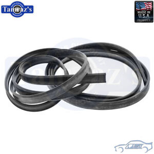 for 55-64 Bel Air Star Chief Fender Skirt Rubber Seal PAIR Soffseal New