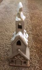 """Tii Collections Ceramic Chapel Tealight 13"""""""
