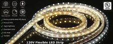 CBConcept® UL Listed,65 Feet,7200 Lumen,120V Flat LED Strip Rope -[Color Option]