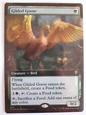 Mtg gilded goose foil extended art  x 1 booster fresh mint  condition