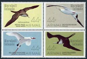 Marshall C13-C16,MNH.Michel 105-108. Birds 1987:Shear water,Booby,Tropic,Frigate
