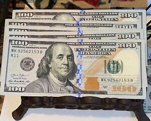 "1 EA From Strap Series 2013 $100 Bills *Mint Condition* ""K"" DALLAS DISTRICT"