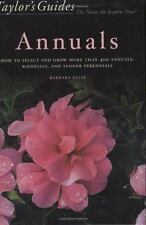 Taylor's Guide to Annuals: How to Select and Grow more than 400-ExLibrary
