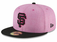 SAN FRANCISCO SF GIANTS MOTHERS DAY SIZE 8.0 (63.5 CM) PINK FITTED CAP NEW ERA