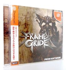 FRAME GRIDE Sega Dreamcast Spine Reg Jap Japan