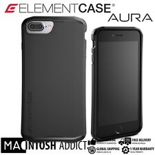 Element Case AURA Protective Case For iPhone 7 PLUS BLACK | MIL-SPEC| Satin