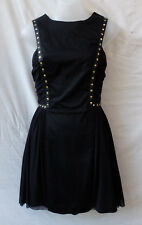 asos petite Size 8 Black Party Dress Casual Evening Occasion  FREE POSTAGE