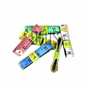 """60"""" or 120"""" FLAT TAPE MEASURE TAILOR SEWING CLOTH SOFT BODY MEASURING RULER"""