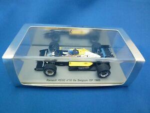 Spark 1:43 F1 Renault RE60 #16 D.Warwick 6e Belgium GP 1985  Diecast Model Car